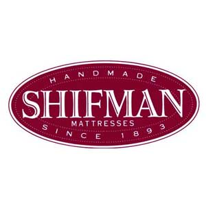 Shifman mattress logo.
