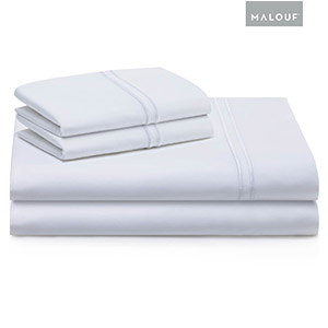 These are Malouf Sheets.